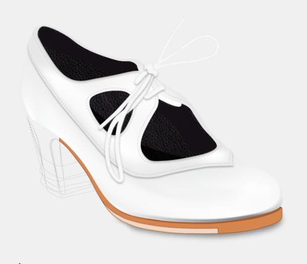 Artefyl Flamencoschuhe Modell Sonsonete - Basis