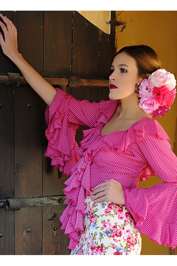 Maßgescheiderter Flamenco Oberteil Candela