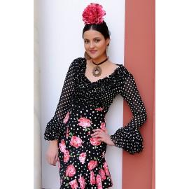 Maßgescheiderter Flamenco Oberteil Esperanza