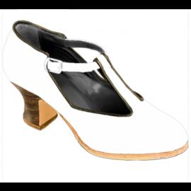 Massgeschneiderte Senovilla Flamencoschuhe Modell Sandalia