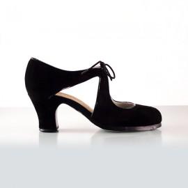 Begoña Cervera Flamencoschuhe Modell Escote maßgeschneidert