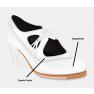 Artefyl Flamencoschuhe Modell Sonsonete - Teile